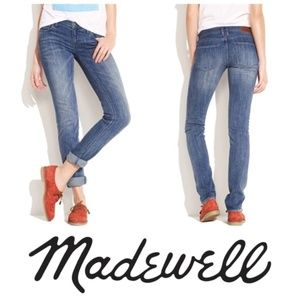 MADEWELL Rail Straight Jeans in Eastern Wash